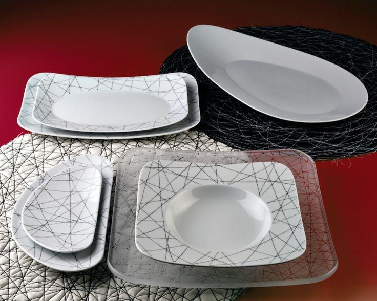 FREE SPIRIT STARS. La vajilla perfecta para la presentación de platos creativos e innovadores en la más fina y moderna porcelana de #Rosenthal.