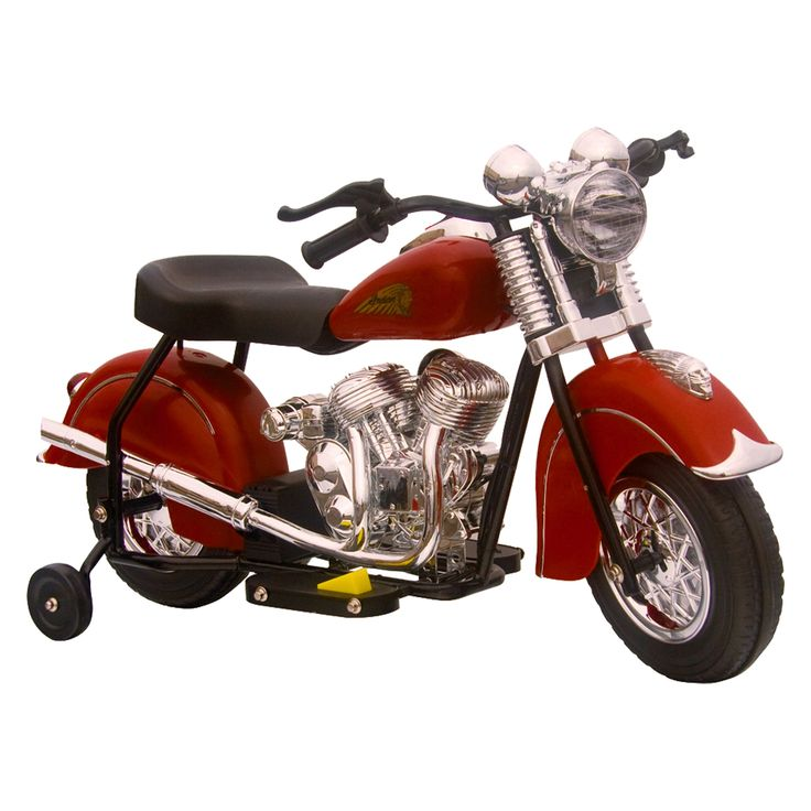 Have to have it. GiGGO Toys Little Vintage Indian Motorcycle Battery Powered Riding Toy - $139.99 @hayneedle