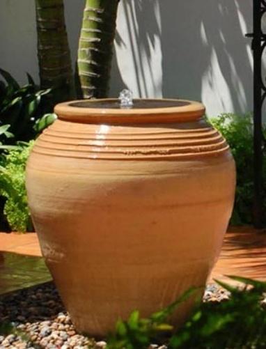 Terra Cotta Pottery Outdoor Garden Fountain