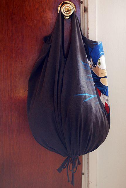 No-Sew T-shirt Bags!