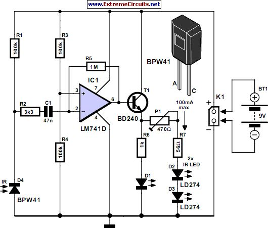 Simple Ir Remote Control Circuit