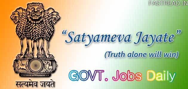 Daily top 20 Sarkari Noukari (Govt Jobs) of India