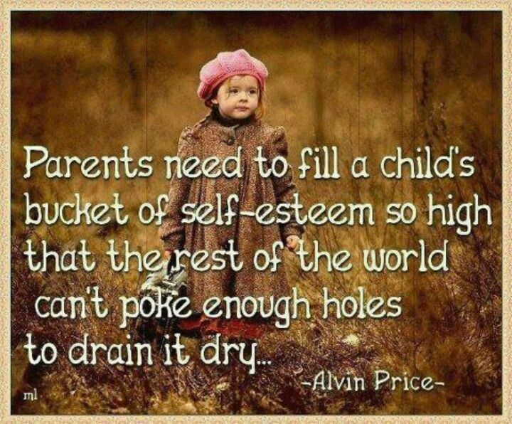 I just love this so much... Its the basic principle I've raised my kids by...