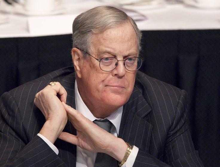Koch Brothers, Major Corporations Sponsor Pension Reform Seminar For Judges. The rich are not rich enough?