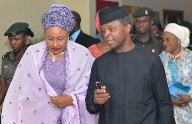 LadejiNaija | Breaking News In Nigeria: Buhari Wife, Osibanjo in Attendance of Christian, ...