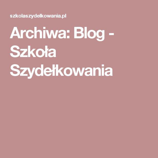 Archiwa: Blog - Szkoła Szydełkowania