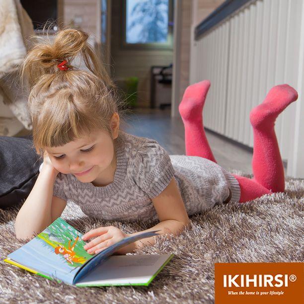 Отдыхаем в деревянном доме из клееного бруса. Модель H2-154 #деревянныйдом из клееного бруса #Ikihirsi. Еще больше проектов на http://www.ikihirsirussia.ru/