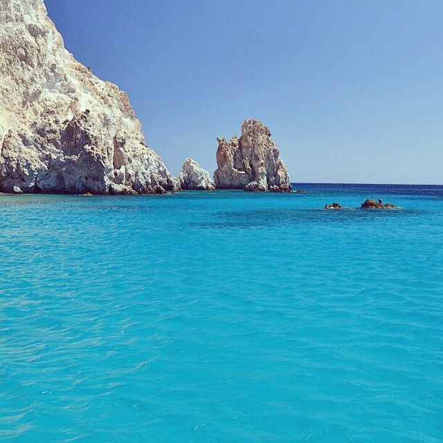 Polyaigos island (Πολύαιγος) , the secret beauty of the cyclades islands . With magnificent beaches and clear crystal water !