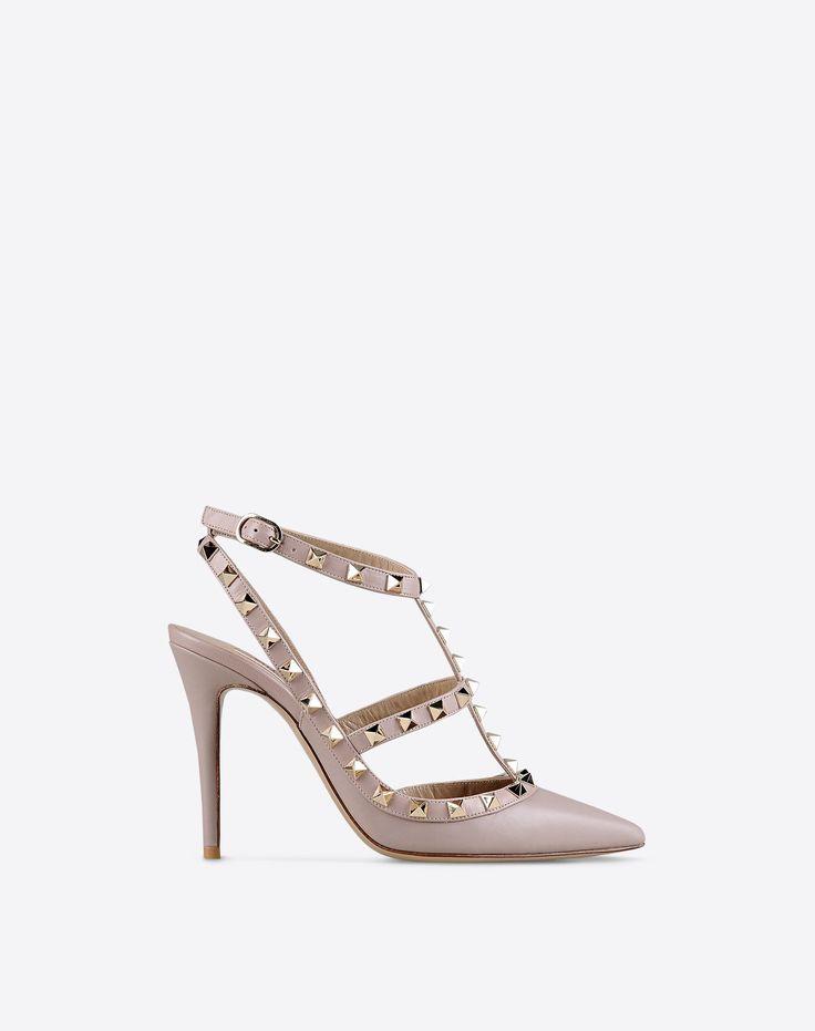 Valentino Garavani Rockstud Ankle Strap, Pumps for Women - Valentino Online  Boutique