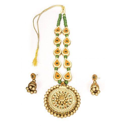 Terracotta Jewellery by Ovi's creations