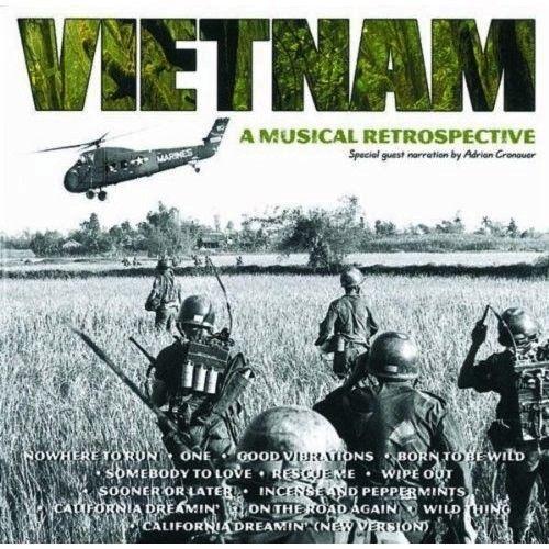 Vietnam A Musical Retrospective Music CD 14 Tracks 1998 Adrian Cronauer  #FolkRock