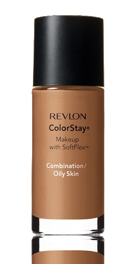Revlon ColorStay Foundation.  A great long-wearing drugstore foundation.  Medium-full coverage.  Applies best with a damp sponge.  Dries quickly so you have to work it into the skin fairly fast.  A great alternative to EL Double Wear.
