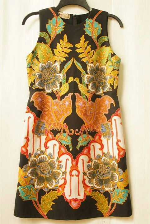 Batik dress from Indonesia