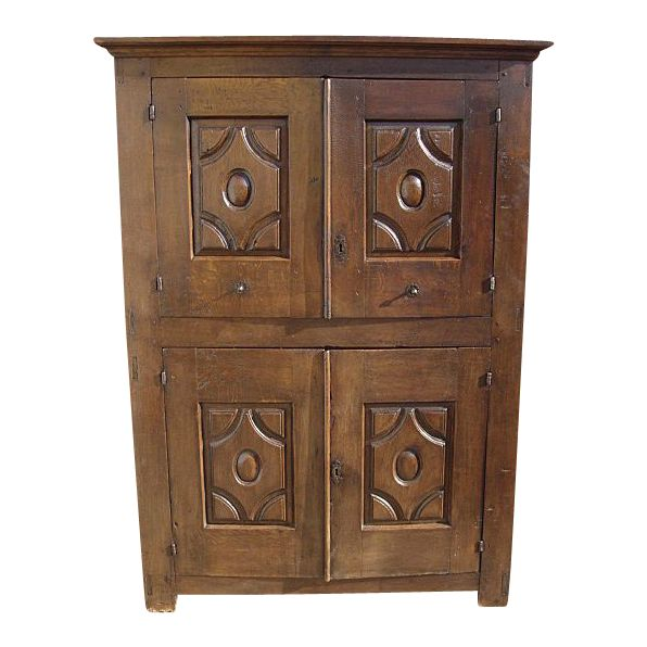Antique Furniture Spanish Antique Carved Cabinet