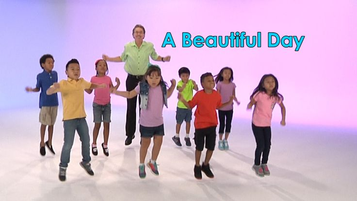A Beautiful Day is a good morning song celebrating the start of a new day. Children sing the chorus together with me, raise their arms up, hold hands and swa...