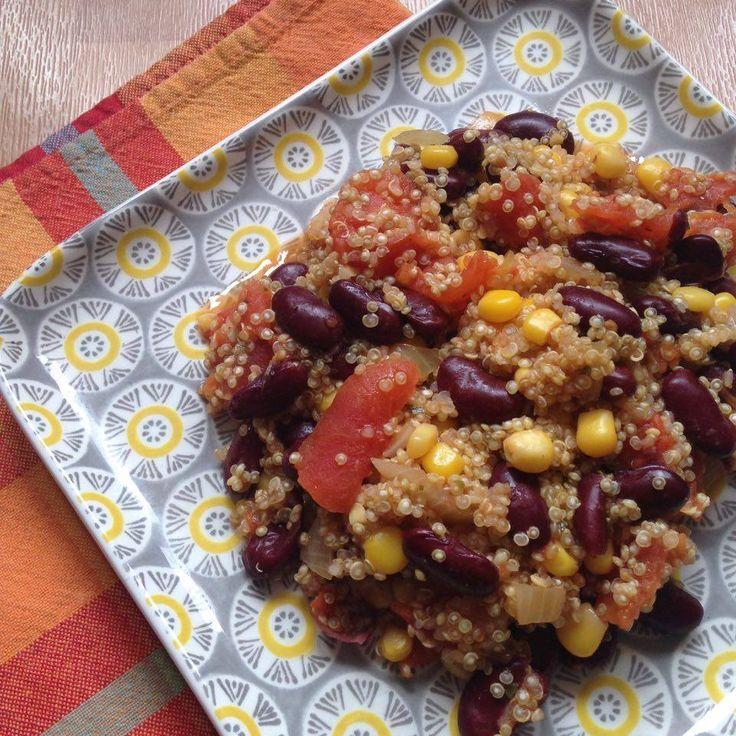 One pot quinoa // Double portion