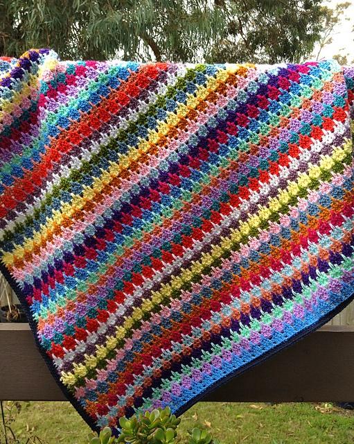Larksfoot Crochet Pattern Stitch Baby Afghan Crochet Geek Pakbit For