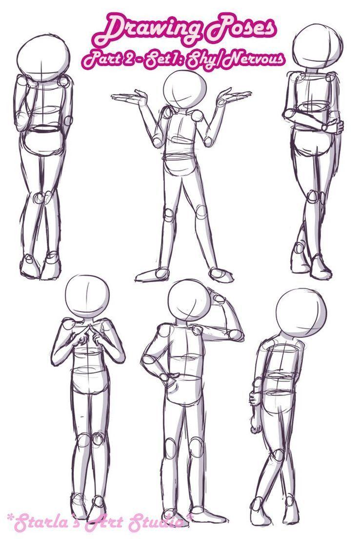 Schüchterne Posen: Hier ist eine kurze Referenzse…