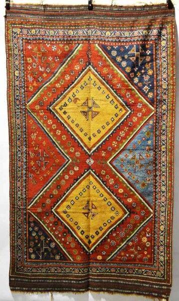 Persian Fars Qashqai rug by the Kashkuli taifeh, second half 19th century