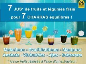 7 chakras, 7 recettes