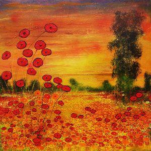 118 beste afbeeldingen over schilderijen bekende kunstenaars op pinterest acryl abstract en - Lijst van warme kleuren ...