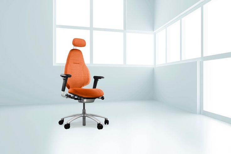 Orange is the new black #InspireGreatWork #RHMereo #Scandinavian #design #office