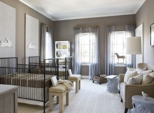 44 best Twins Nursery images on Pinterest Twin nurseries Babies