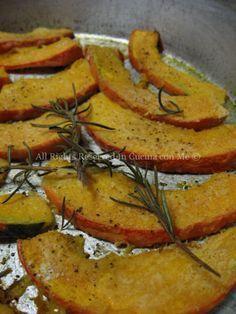 Zucca al forno #ricetta #autunno
