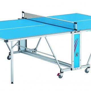 Купить Всепогодный уличный теннисный стол GIANT DRAGON SUNNY 1000 в комплекте (стол, ракетки, сетка, шары) недорого по цене производителя в Москве