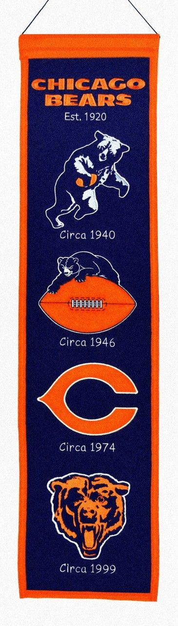 Check out our authentic collection of fan gears, souvenirs, memorabilia. Support the team you love! Free shipping for orders $99+  We are family owned business based in Washington state.   Check this link for more info:-https://www.indianmarketplace.net/chicago-bears-banner-8x32-wool-heritage/ #NFL #MLB #NBA #NCAA #NHL#ChicagoBears