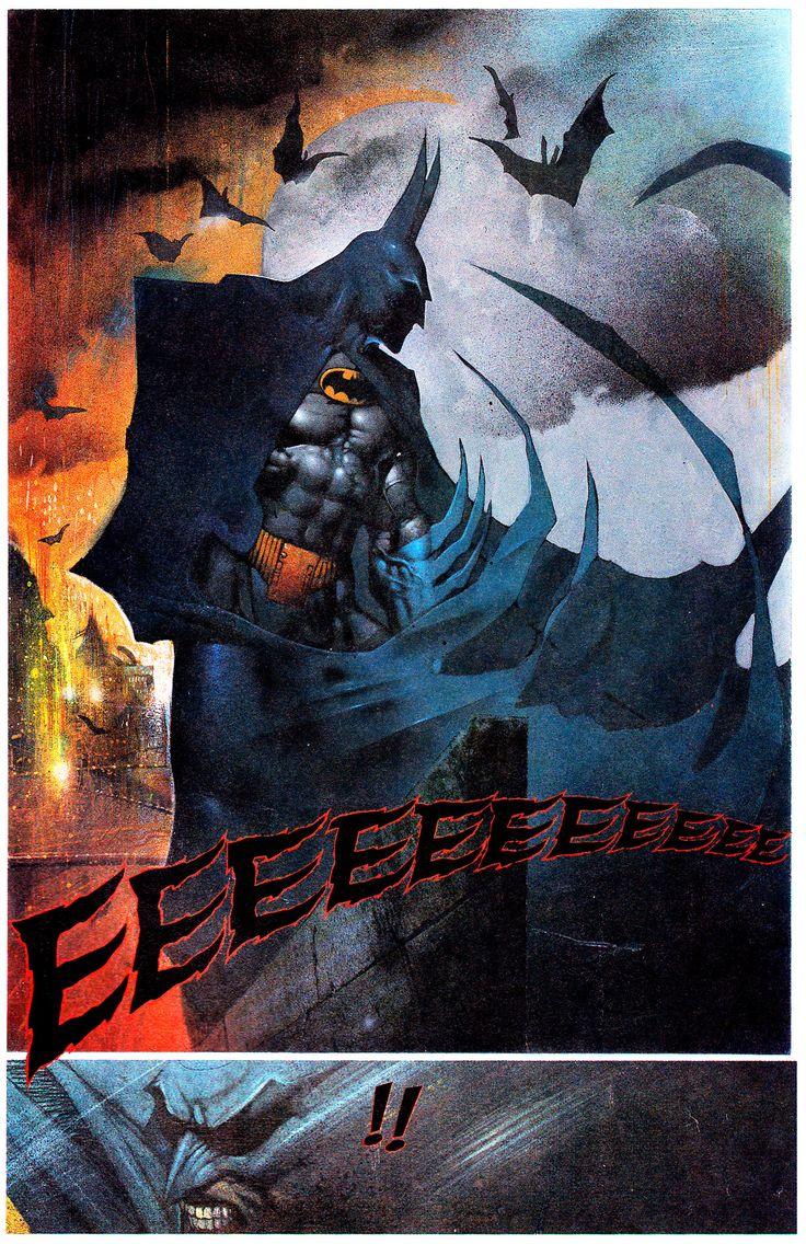 Scream In The Night, Judgement On Gotham - Simon Bisley