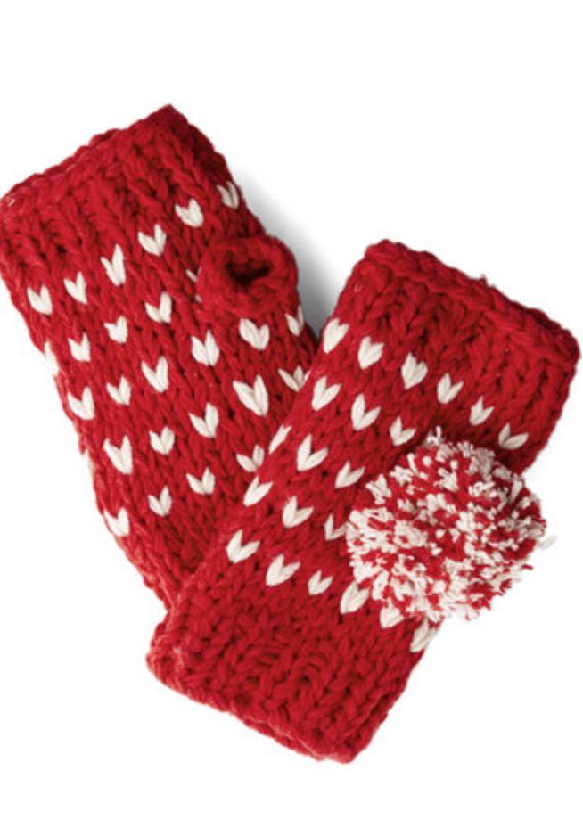 Pom pom glovettes