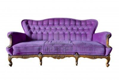 LOVE this purple couch!!! I so would love to have this couch