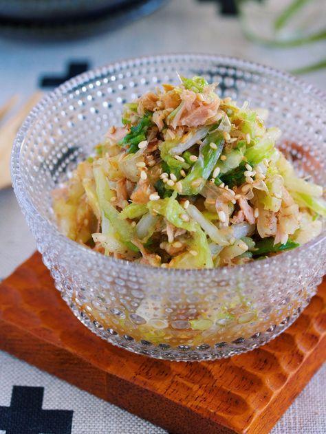 これは危険!無限に食べれる♪『白菜とツナのおかかポン酢あえ』 by Yuu*(大田優) | レシピサイト「Nadia | ナディア」プロの料理を無料で検索