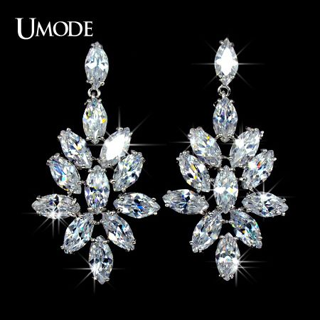 Like and Share if you want this  UMODE Brand Rhodium plated Fashion Marquise Cut AAA CZ  Drop Earrings Jewelry For Women Wedding Party Bijoux AUE0027     Tag a friend who would love this!     FREE Shipping Worldwide     Buy one here---> http://jewelry-steals.com/products/umode-brand-rhodium-plated-fashion-marquise-cut-aaa-cz-drop-earrings-jewelry-for-women-wedding-party-bijoux-aue0027/    #cheap_earrings