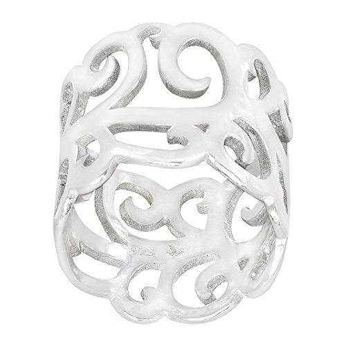 Silpada Sterling Silver 'Eden' Band Ring