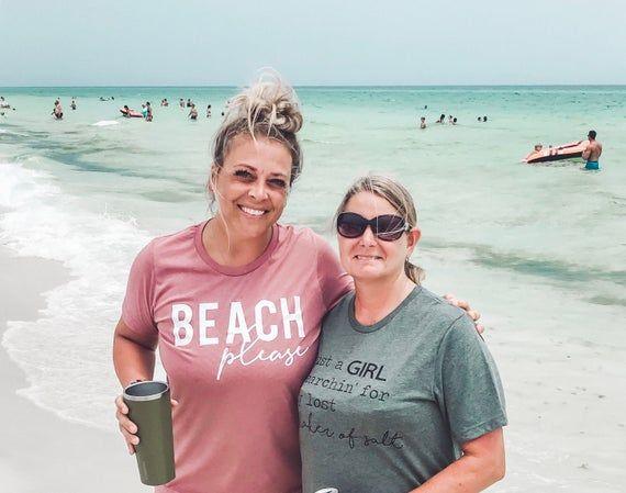 Beach Please T Shirt Funny Beach Tee Beach Vacation Shirt Women S Beach Tee Woman Beach Beach Shirts Vacation Shirts