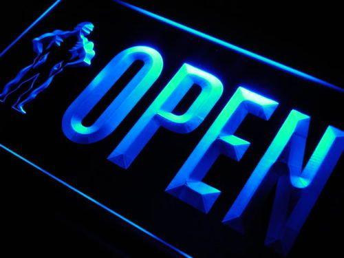 OPEN Gym Fitness Centre Shop Neon Light Sign