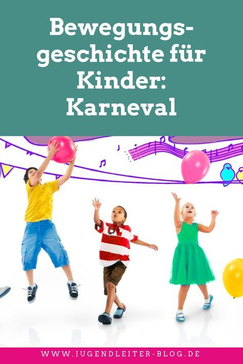 Movement story for children: carnival