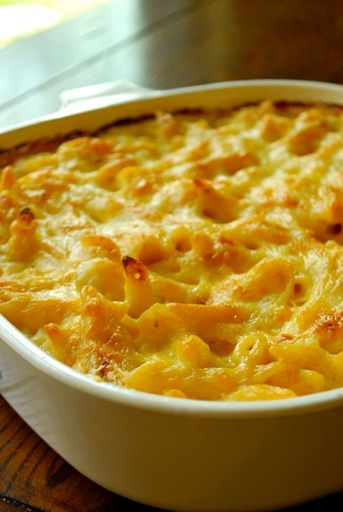 Classic - Baked Mac n Cheese - This is the classic version that you loved growing up as a kid.  Ahhhhh....it's still a favorite at my house!