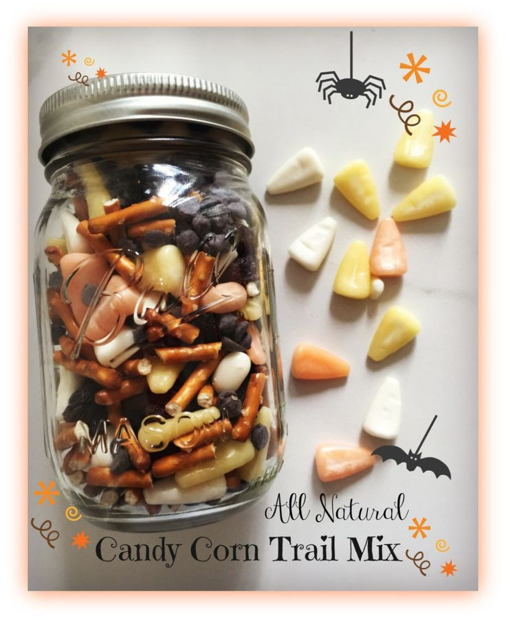 Candy Corn Trail Mix #TriplePFeature