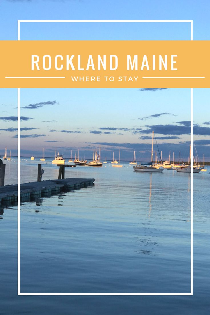If you are heading to the Penobscot Bay area, I found the perfect place to stay in Rockland Maine. With cooler temps and gorgeous scenery, Maine has been on my list for ages.