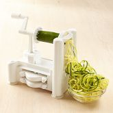 This Paderno Spiralizer is not only for making divine zucchini pasta, but also for ribboning cucumber, carrots, spiral fries and so much more!