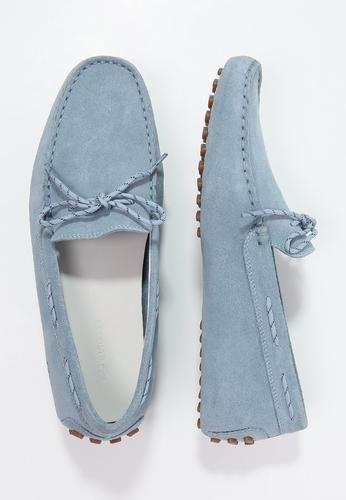 #Lacoste concours mocassini light blue Celeste  ad Euro 153.00 in #Lacoste #Uomo scarpe scarpe basse