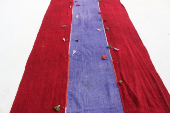 12x3 ft Hallway rug runner Hand Woven Turkish #housewares @EtsyMktgTool  #12x3rugrunner #hallwayrugrunner #arearugs #onecoloredkilim