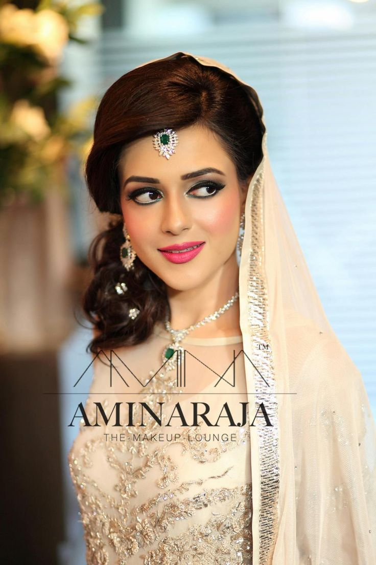 f619fef6cb Beautiful Makeup by Amina Raja Pure traditional bridal makeup