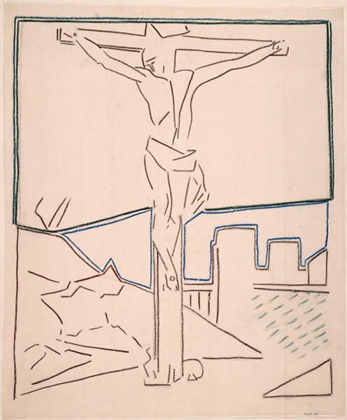 crucifixion de Saint Pierre buraglio