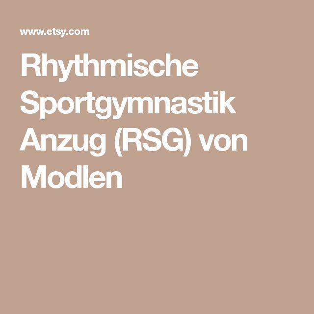 Rhythmische Sportgymnastik Anzug (RSG) von Modlen