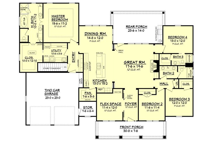 Carterville House Plan. Shawn and I like this