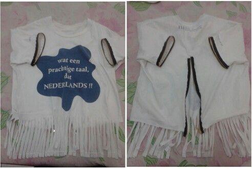Shirt + zipper = voila